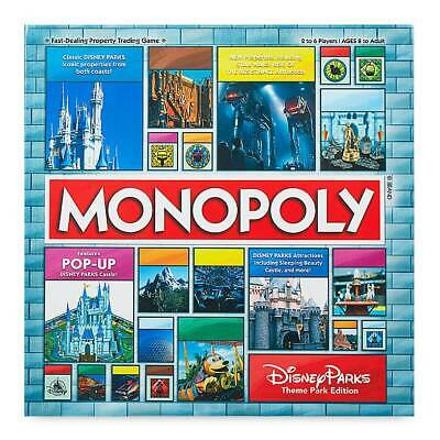 Disney Parks Monopoly Game Pop Up Castle Star Wars Rise Of The Resistance Mickey