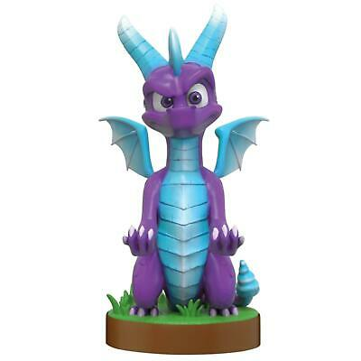 Official Spyro Ice Cable Guy Collectible PS4 Xbox Controller Stand Charge Figure