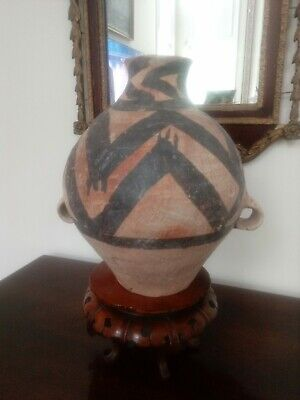 Neolithic. Painted Frog Pottery Jar -Majiayao Culture (2300- 2000 BC)