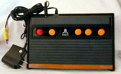 Genuine OEM Vintage Atari Flashback 5 Classic Game Console with Adapter