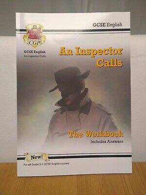 GCSE English - An Inspector Calls Workbook (Includes Answers) by CGP
