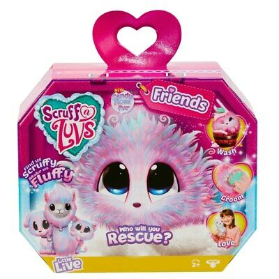 Scruff-a-Luvs Rescue Pet Surprise Soft Toy Candy Floss Assortment Kids Toys Gift