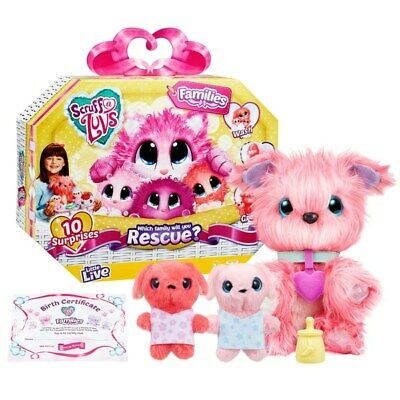 Scruff-a-Luvs Rescue Pet Surprise Soft Toy Families Assortment Kids Toys Gift