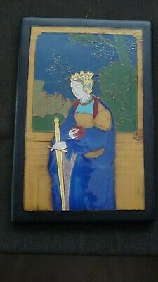 Extremely rare CALIFORNIA FAIENCE PRE-RAPHAELITE TILE C1915-1920