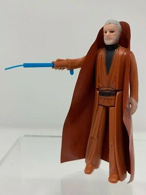 Vintage Kenner Star Wars OBI WAN KENOBI Figure 100% Complete All Original JEDI