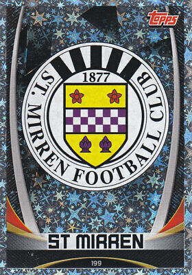 TOPPS MATCH ATTAX SPFL 2019-20 - Club Badge - St.Mirren - # 199