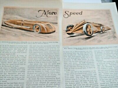 Mar 1929 Magazine Page #A210- Maj H.o.d.seagrave- Land Speed Record- 4Pgs