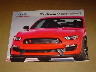 1968 FORD MUSTANG ONLY CAR SALES BROCHURE MINT