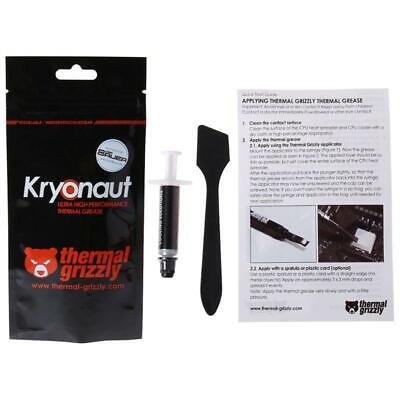 Thermal Grizzly Kryonaut 1g for CPU AMD Processor Heatsink Fan Compound Cooling