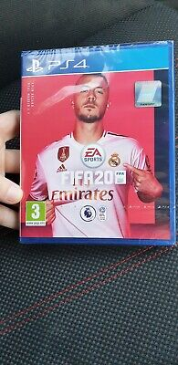 FIFA 20 (PS4) BRAND NEW AND SEALED unwanted gift looking for quick sell.UK bid