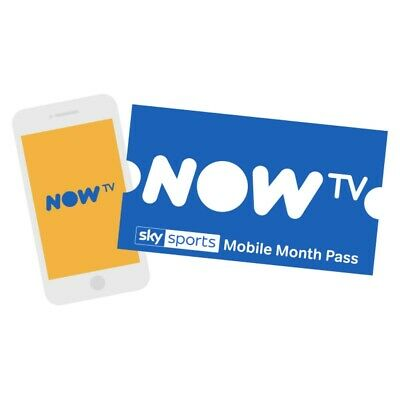 Now TV sky sports - 1 Month mobile Pass claim before 30/11/2019 sent by email