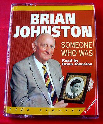 Brian Johnston Reads Someone Who Was 2-Tape Audio Bk Johnners Biog/Cricket/Sport