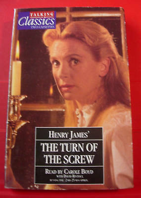 Henry James The Turn Of The Screw 2-Tape Audio Book Carole Boyd