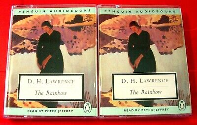 D.H.Lawrence The Rainbow 4-Tape Audio Book Peter Jeffrey