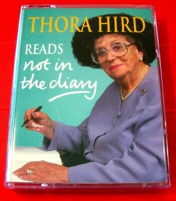 Thora Hird Reads Not In The Diary 2-Tape Audio Book Entertainment Autobiography