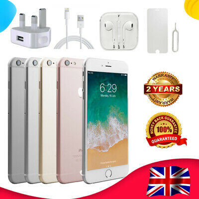 New Sealed Apple iPhone 6 16GB 64GB 4G LTE Factory Unlocked Smartphone Plus Gift
