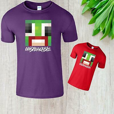 Christmas Kids Youtuber T-Shirt Youtube Gaming Boys Girls Unspeakable Gift Tee