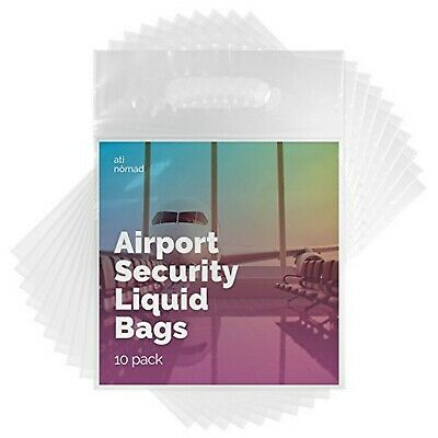 Ati Nomad Airport Security Compliant Toiletry Bags for Hand Luggage Liquids 1...