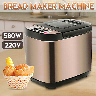 19 IN 1 220V 580W Multi-function Bread Maker Automatic Oven 360°  Baking Kitchen