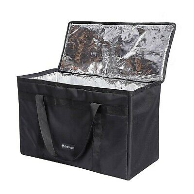 DELEBAO Extra Large Cool Bag 56L Insulated Cooler Bag Box Picnic Camping Food...