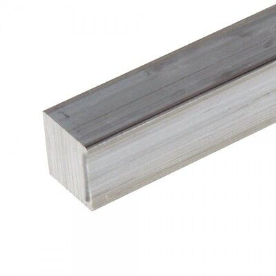 "5/8"" .625"" Aluminum 6061 Square Bar x 6"""