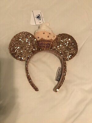 Disney Parks Epcot Food Wine Festival 2019 Minnie Ears