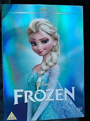 Frozen DISNEY #52 DVD LIMITED EDITION O RING SLIP CASE COVER SLEEVE NEW & Sealed