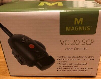 Unopened Magnus VC-20-SCP Zoom Controller for SONY, CANON, PANASONIC