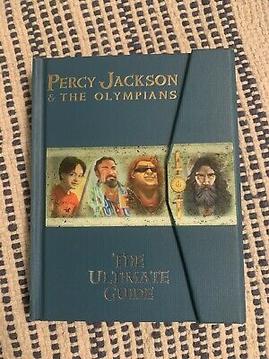Percy Jackson and the Olympians The Ultimate Guide - Rick Riordan Hardcover