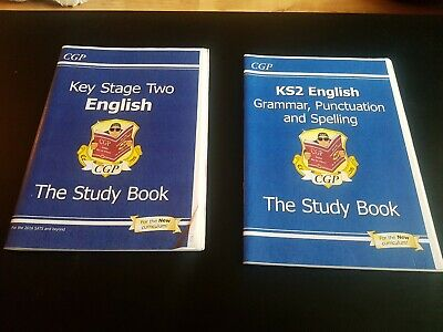Key Stage 2 Bundle ENGLISH and Maths  STUDY/BUSTERS/ QUESTION BOOKS