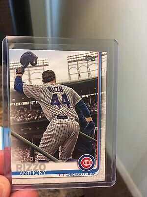 2019 Topps Anthony Rizzo Short Print Chicago Cubs Series 2 SP