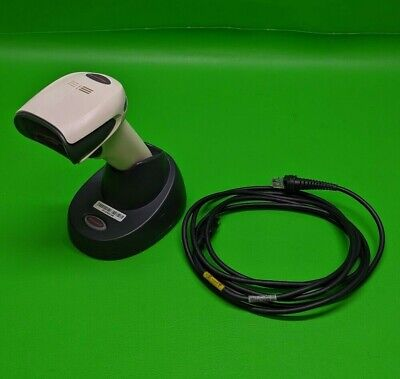 Honeywell Xenon 1902 Cordless Barcode Scanner w/ Cradle **USB Cable Included**