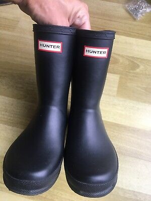 Kids Hunter Wellies size 11 Black boys / Girls
