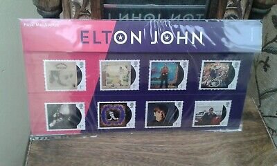 Collectable.....elton John..presentation Pack...2019..Royal Mail Stamps....new