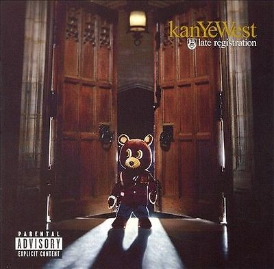 Late Registration [PA] by Kanye West (CD, Aug-2005, Def Jam (USA)) SEALED