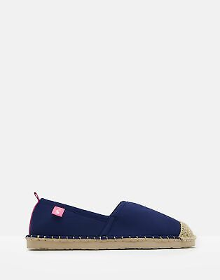 Joules Womens Ocean Flipadrille Flipadrilles in FRENCH NAVY Size Adult 8