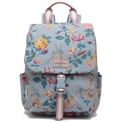 Cath Kidston  Buckle Backpack PEMBROKE ROSE BLUE - SALE - CHRISTMAS GIFT