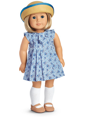 American Girl Kit's Play Dress Complete Outfit - New in Box - Retired - HTF