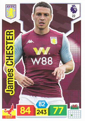 Panini Adrenalyn XL - Premier League 2019-20 - James Chester - Aston Villa -# 22