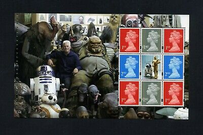 GB 2017 Booklet pane STAR WARS  SG U3095b  MNH / UMM FV£6.82