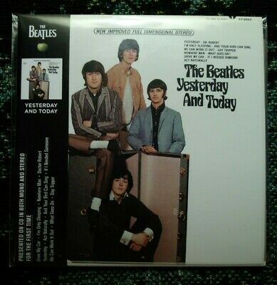 The Beatles yesterday and today butcher cover CD with trunk cover slick! New!