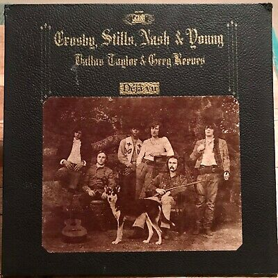 Crosby Stills Nash & Young - Deja Vu -1970 - Vinyl Record LP - Vintage Original