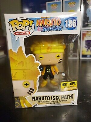 Funko Pop Animation #186 Naruto (Six path) Hot topic Exclusive