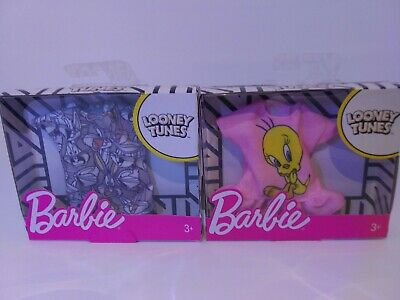 barbie clothes Looney tunes bugs and tweety new still in box
