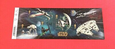 GB 2015 STAR WARS miniature sheet With Barcode MNH. MS3770