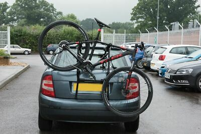 3 Bike Bicycle Car Cycle Carrier Rack Universal Fitting Hatchback Saloon Estate