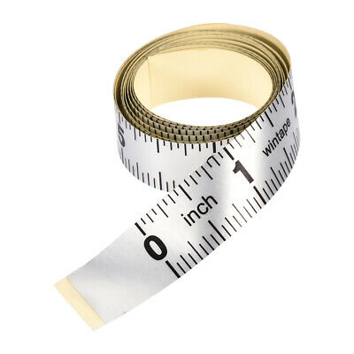 Adhesive Backed Tape Measure 40 Inch Measuring Tool for Tailor Sewing