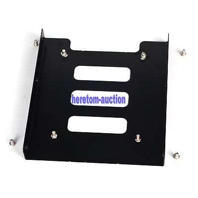 "2.5"" to 3.5"" SSD HDD Metal Adapter Mounting Bracket Hard Drive Holder for PC HOT"