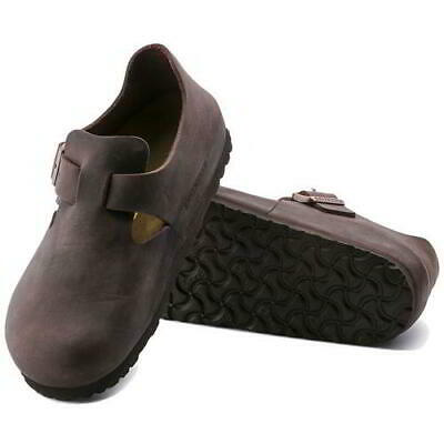 Birkenstock London Regular Fit Mens Womens  Brown Clogs Shoes Size 4-11.5