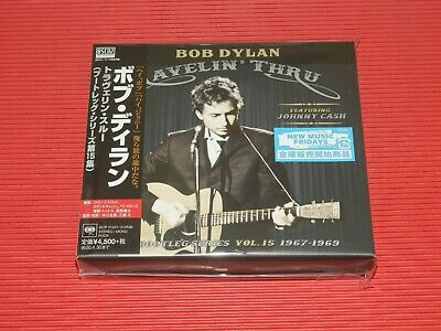 2019 Bob Dylan Travelin' Thru Featuring Johnny Cash Japan 3 Blu-Spec Cd Set